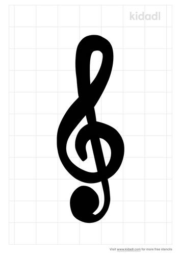 g-clef-stencil