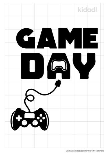 gameday-stencil
