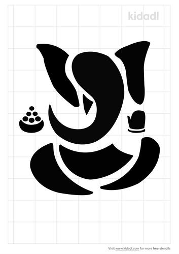 ganesh-stencil