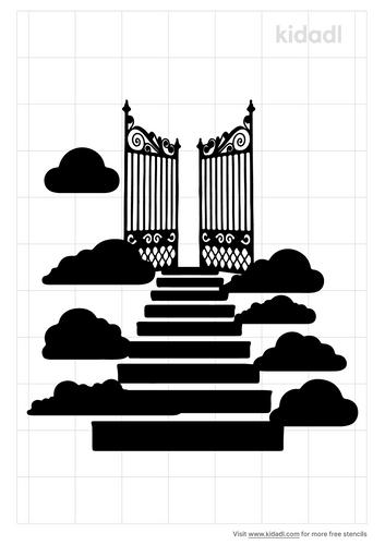 gateway-to-heaven-stencil