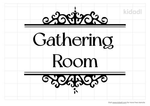 gathering-room-stencil