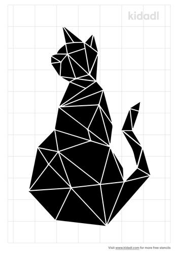 geometric-cat-stencil.png
