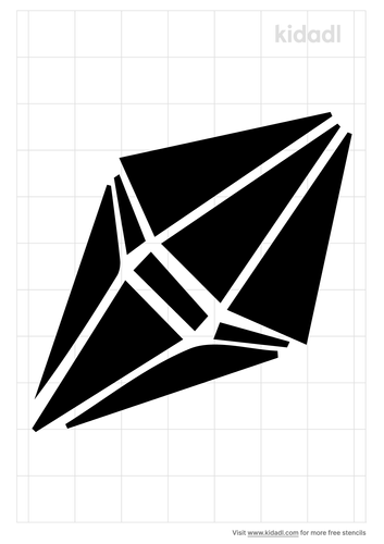 geometric-crystal-stencil