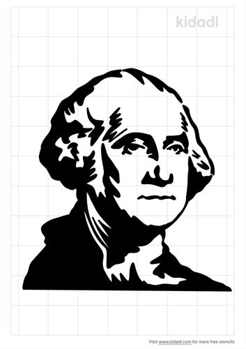 george-washington-stencil