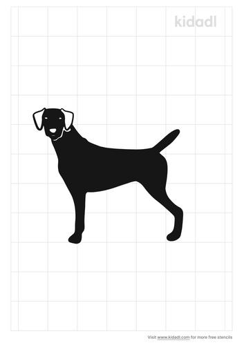 german-shorthaired-pointer-stencil