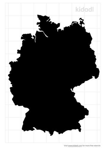 germany-stencil