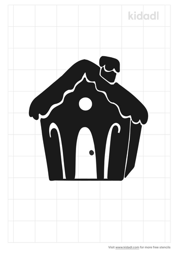 ginger-bread-house-stencil
