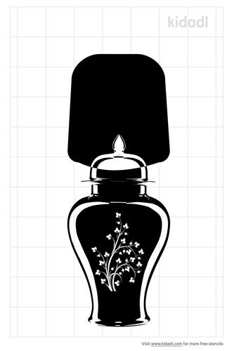 ginger-jar-lamp-stencil
