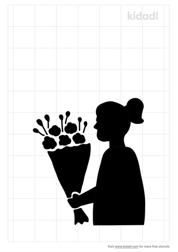 girl-holding-flower-bouquet-stencil.png