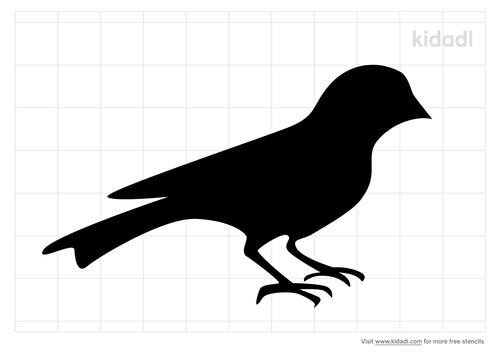 goldfinch-stencil