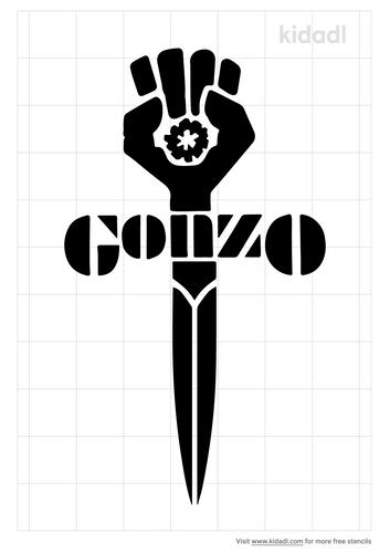 gonzo-fist-stencil