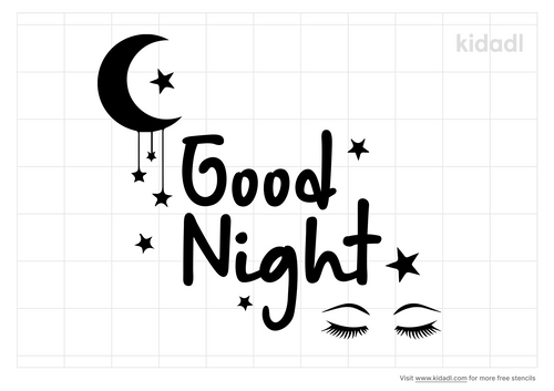 goodnight-stencil