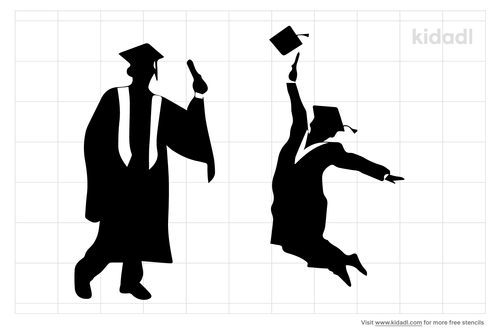 graduation-stencil