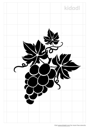 grape-cluster-with-leaves-stencil.png