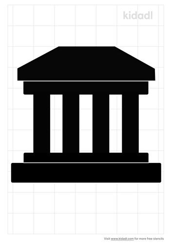 greek-building-stencil