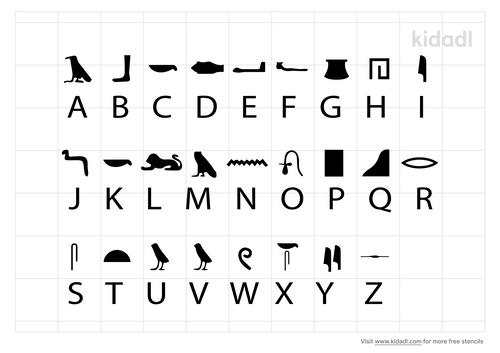 greek-hieroglyphics-stencil