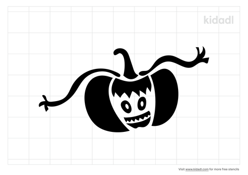 halloween-monster-stencil