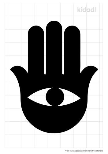 hamsa-simple-stencil