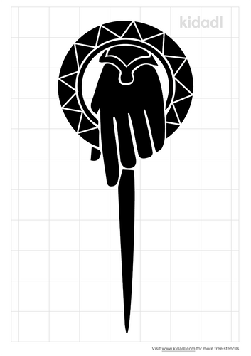 hand-of-the-queen-stencil
