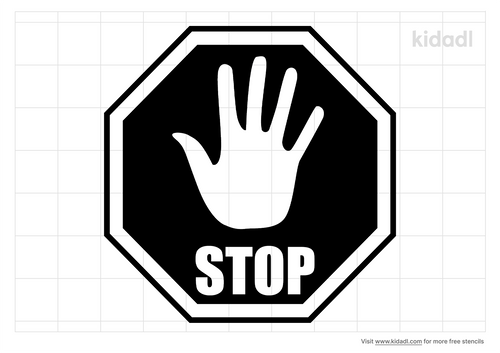 hand-stop-sign-stencil