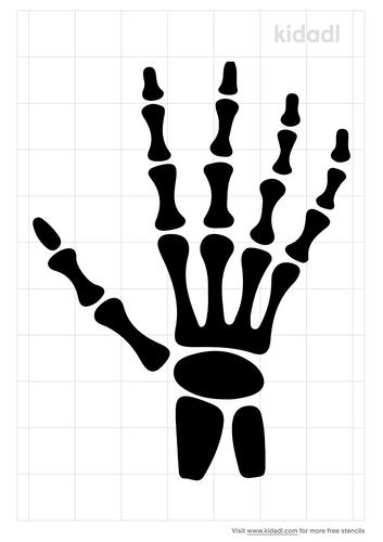 hand-xray-stencil