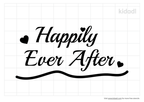 happily-ever-after-stencil