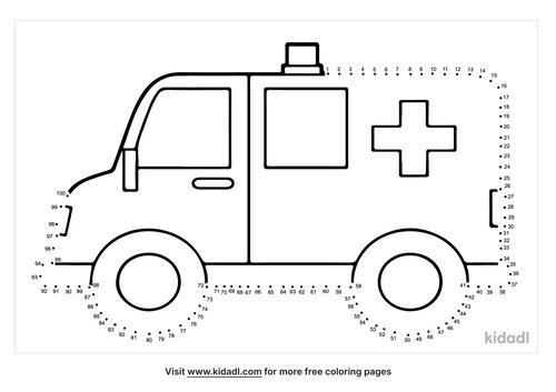 hard-ambulance-dot-to-dot