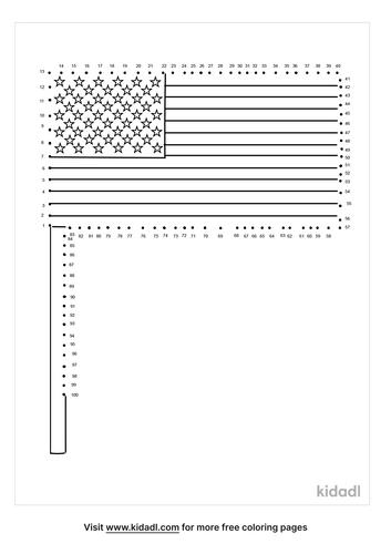 hard-american-flag-dot-to-dot