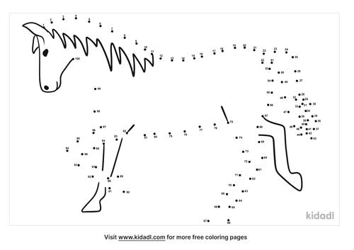 hard-baby-horse-dot-to-dot