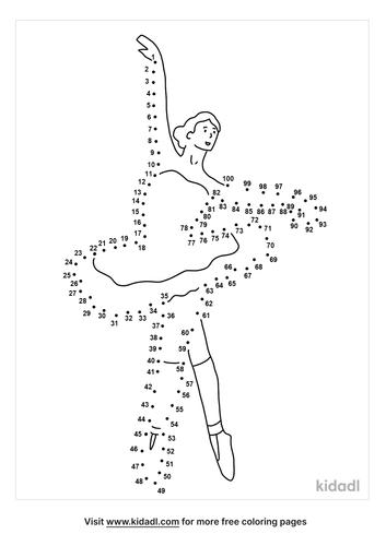 hard-ballerina-dot-to-dot