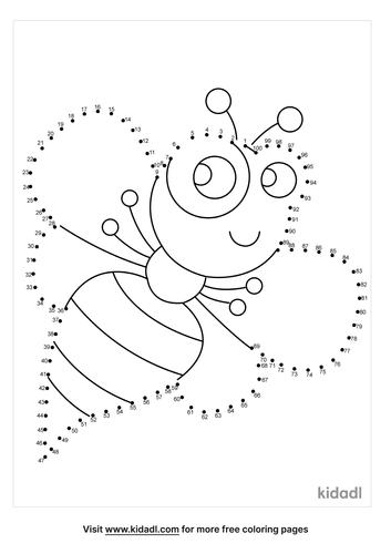 hard-bee-dot-to-dot