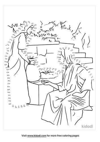 hard-bible-woman-at-well-dot-to-dot