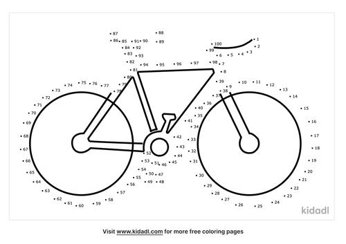 hard-bicycle-dot-to-dot