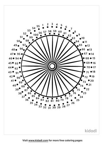 hard-bike-wheel-dot-to-dot