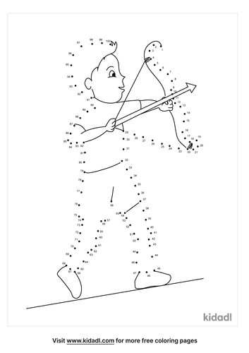 hard-bow-and-arrow-dot-to-dot