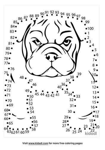 hard-bulldog-dot-to-dot