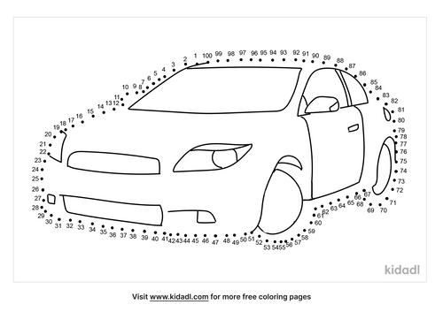hard-car-dot-to-dot