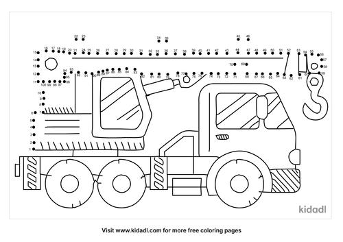 hard-crane-truck-dot-to-dot