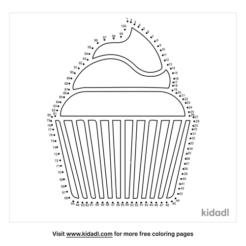 hard-cupcake-dot-to-dot