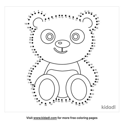 hard-cute-panda-dot-to-dot