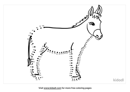hard-donkey-dot-to-dot
