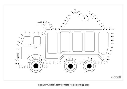 hard-dump-truck-dot-to-dot