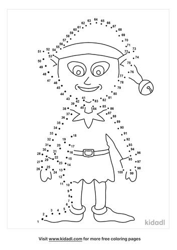hard-elf-dot-to-dot