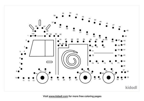 hard-fire-truck-dot-to-dot