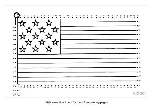 hard-first-american-flag-dot-to-dot