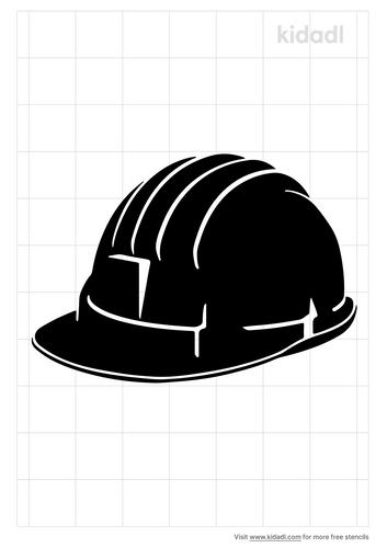 hard-hat-stencil