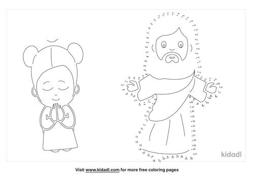 hard-jesus-and-disciples-dot-to-dot