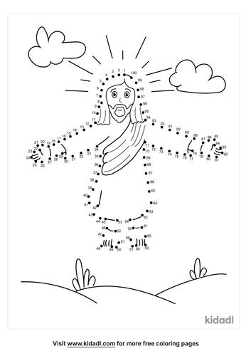 hard-jesus-ascension-dot-to-dot