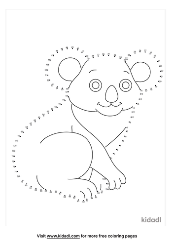 hard-koala-dot-to-dot