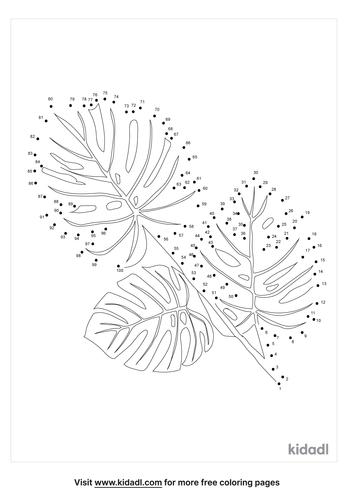 hard-leaf-dot-to-dot